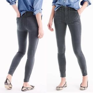 Cargo Toothpick Pants by J Crew NWT